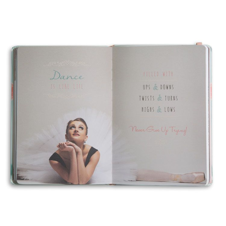Pointe Shoe + Converse | Hardcover Journal