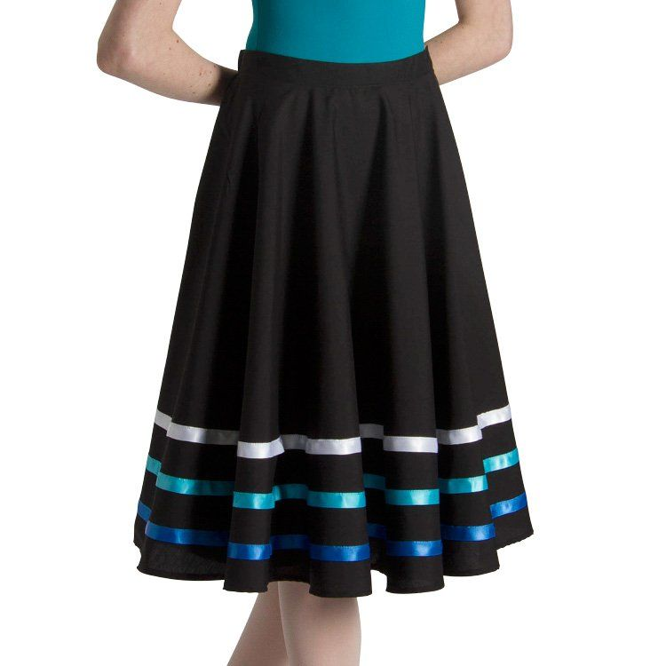 A0404L - Bloch Ribbon Character Womens Skirt