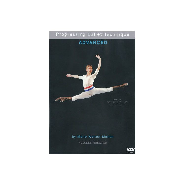 71071 - CD/DVD Progressive Ballet Technique Advaced By Marie Walton-Mahon