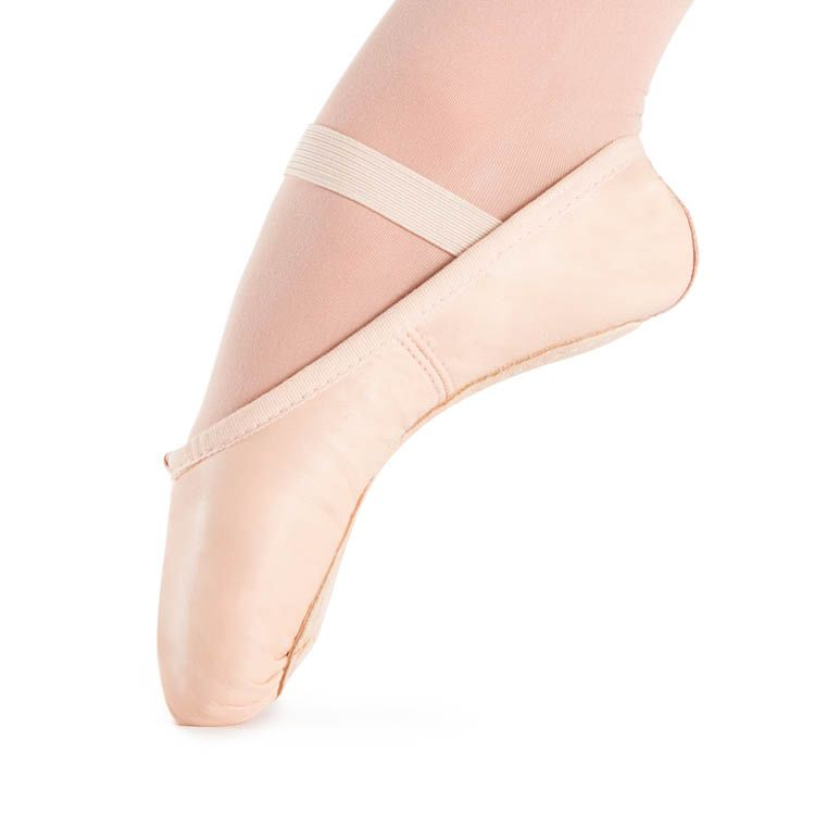 S0201G - Bloch Prolite Leather Childrens Ballet Flat