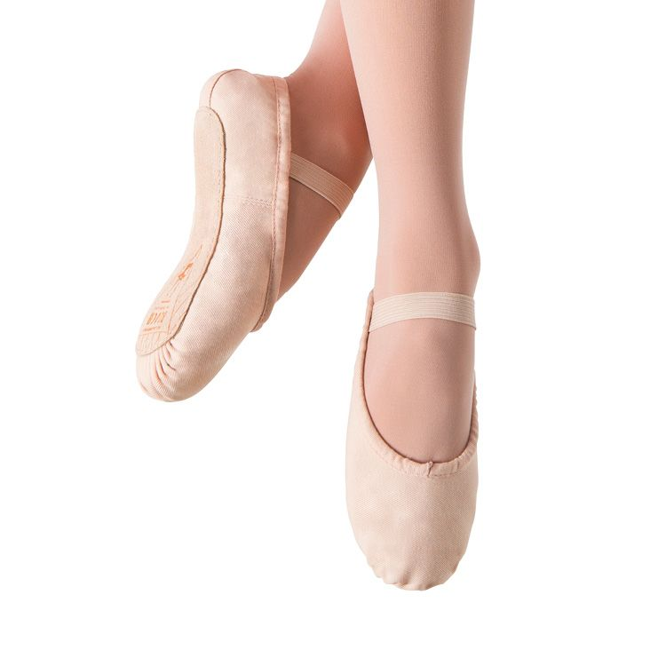 S0211G - Bloch Prolite Canvas Girls Ballet Flat