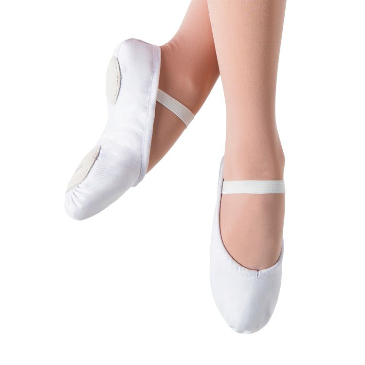 S0213G - Bloch Prolite II Canvas Girls Ballet Flat