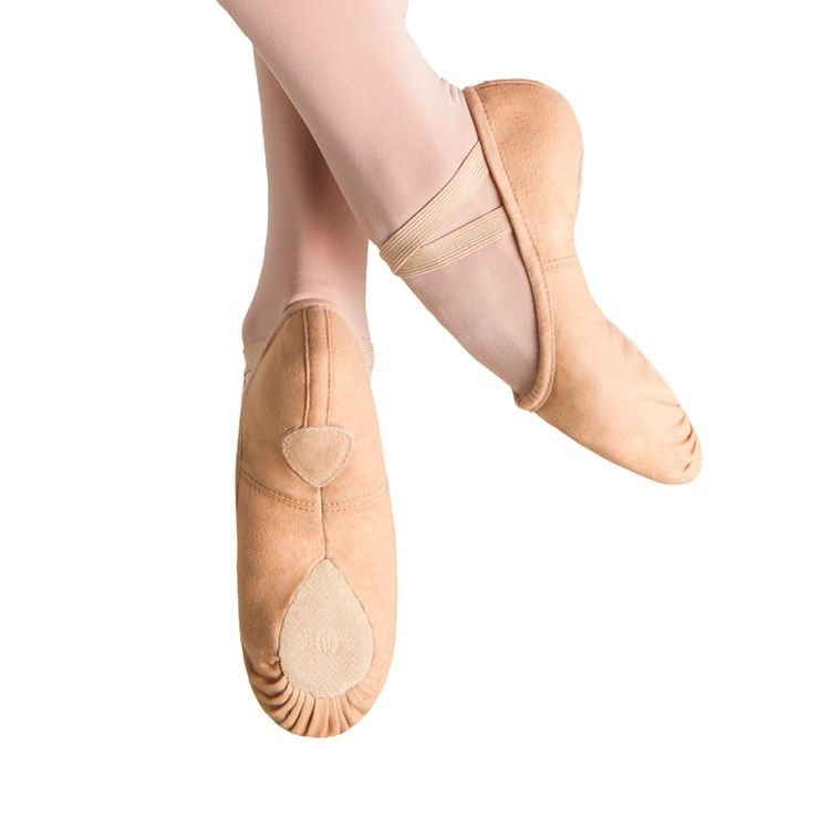 S0277L - Bloch Pump Canvas Womens Ballet Flat