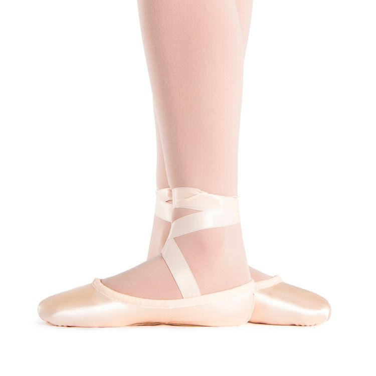ALL SIZES FREE POSTAGE BALLET SHOES PINK SATIN FULL SOLE