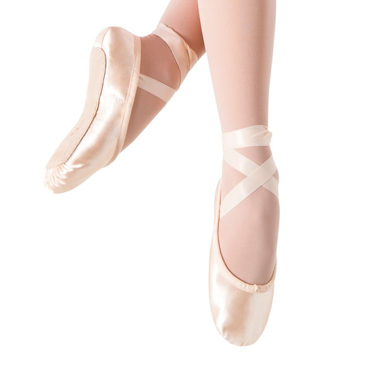 S0231G - Bloch Prolite Satin Girls Ballet Flat