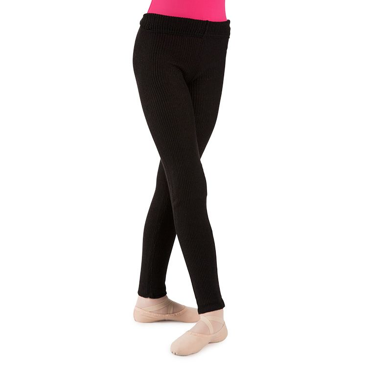 P5938G – Bloch Rosie Rollover Knitted Girls Pant