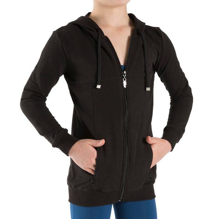 JF5499G - Bloch Long Sleeve Childrens Hip Jacket