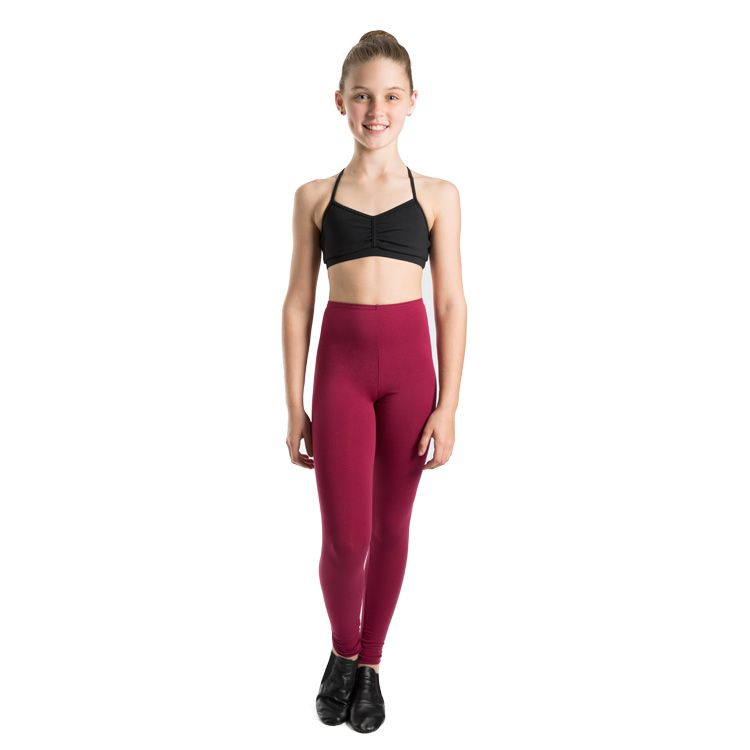 T3400G – Bloch Basic Full Length Footless Girls Leggings