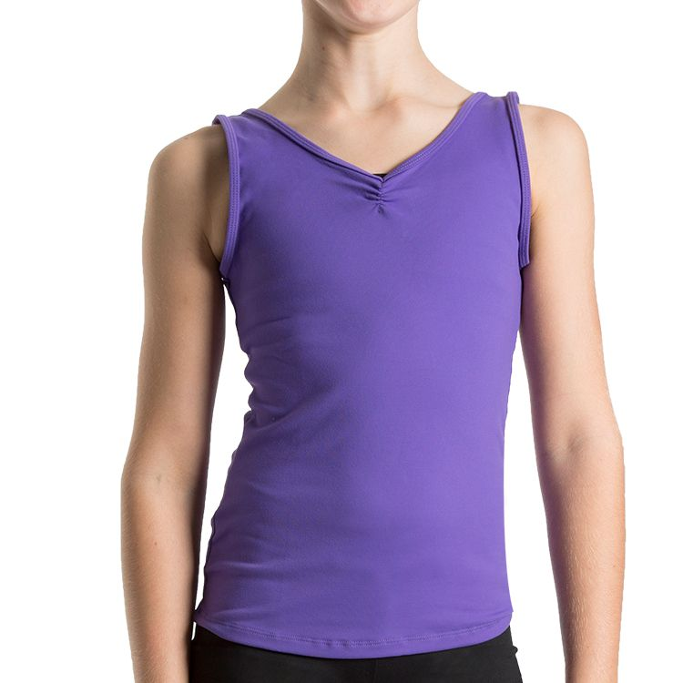 ZF5818G – Bloch V Front Girls Tank Top