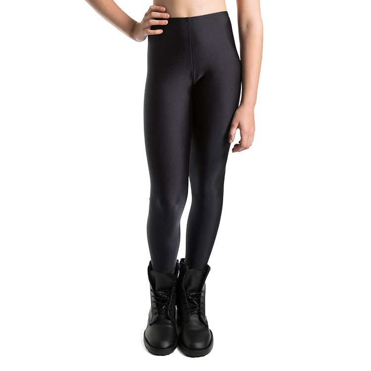 T3200G – Bloch Lycra Full Length Footless Girls Leggings