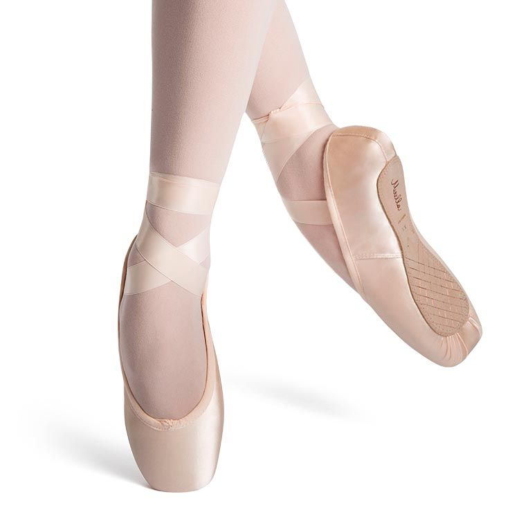 SM140 - Mirella Whisper Satin Pointe Shoe