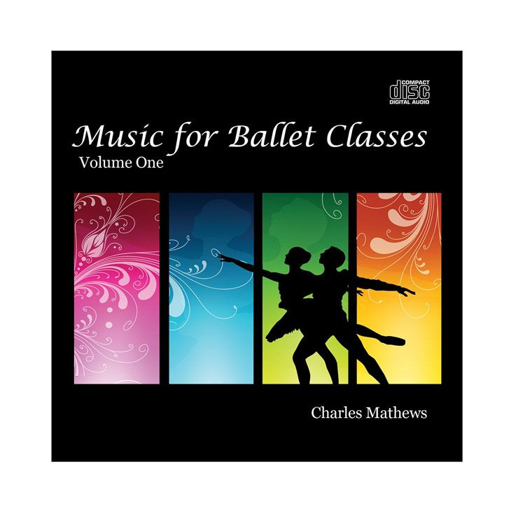 70131 – CD Music For Ballet Classes Vol.1 By Charles Mathews