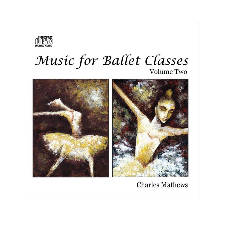 70132 – CD Music For Ballet Classes Vol.2 By Charles Mathews