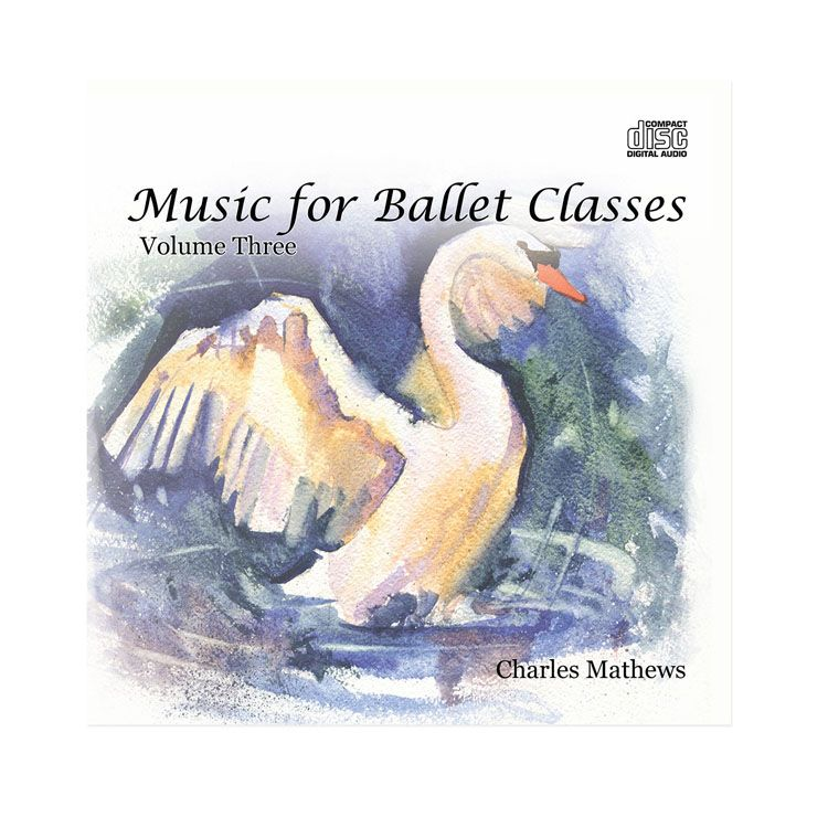 70133 – CD Music For Ballet Classes Vol.3 By Charles Mathews