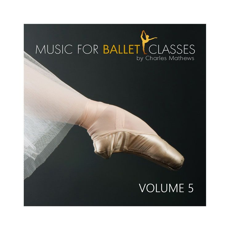 70135 – CD Music For Ballet Classes Vol.5 By Charles Mathews