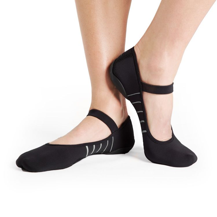 S51277R – Bloch Contour Rubber Sole Closed Barre Shoe