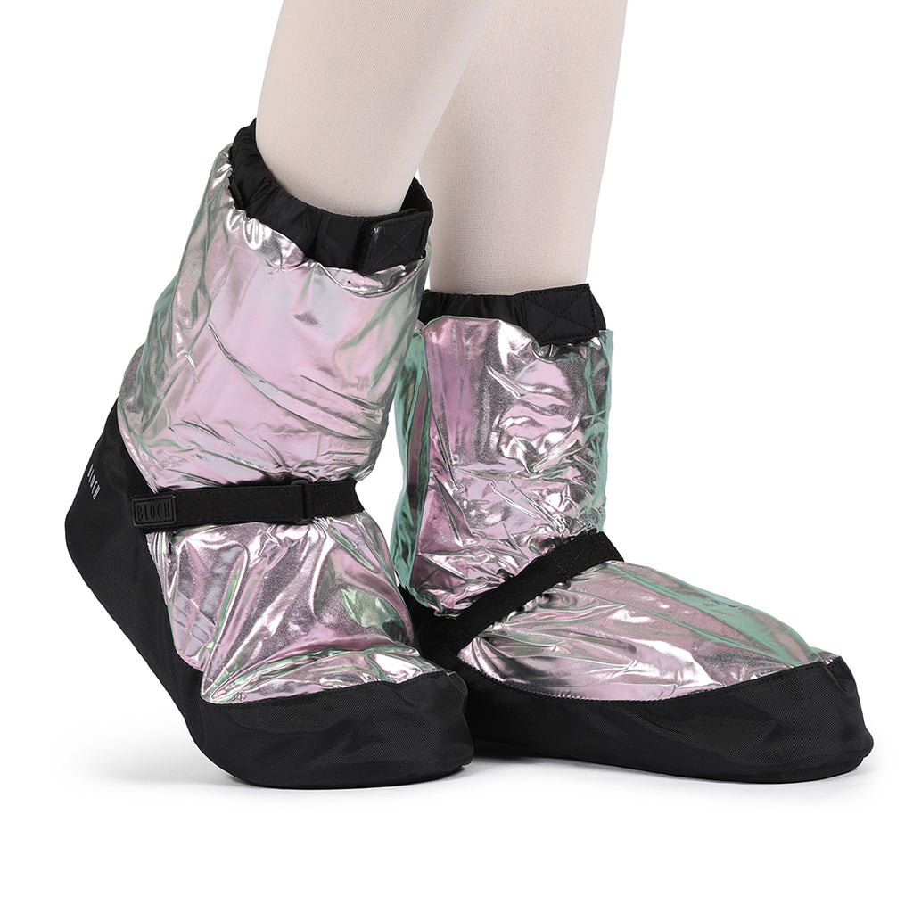 SIM5009MT - Bloch Adult Warmup Metallic Bootie