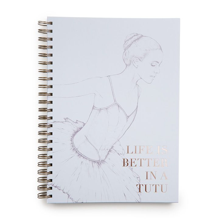 12012 – Bloch Deluxe Spiral A4 Notebook