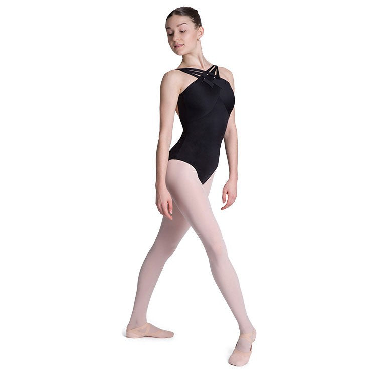 LJ57195 -Jozette Jamison Interwoven Front Womens Leotard