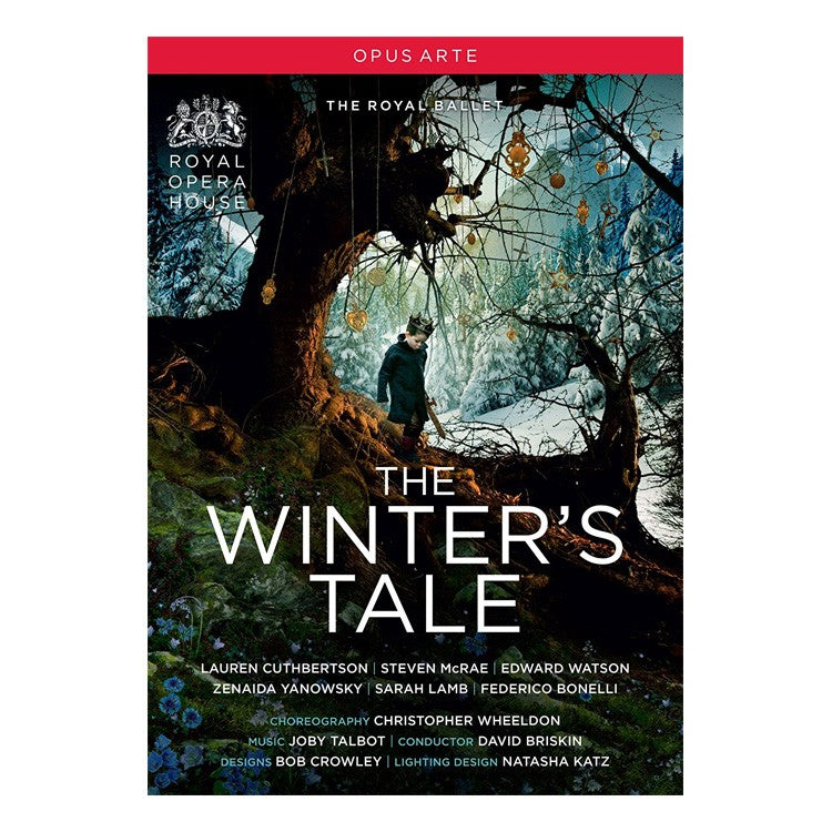 71002 - The Royal Ballet. The Winter's Tale Special Edition DVD