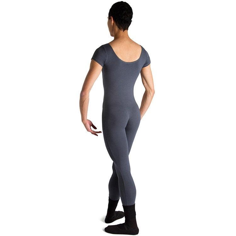 U3472M – Bloch Matt Scoop Neck Cap Sleeve Mens Unitard