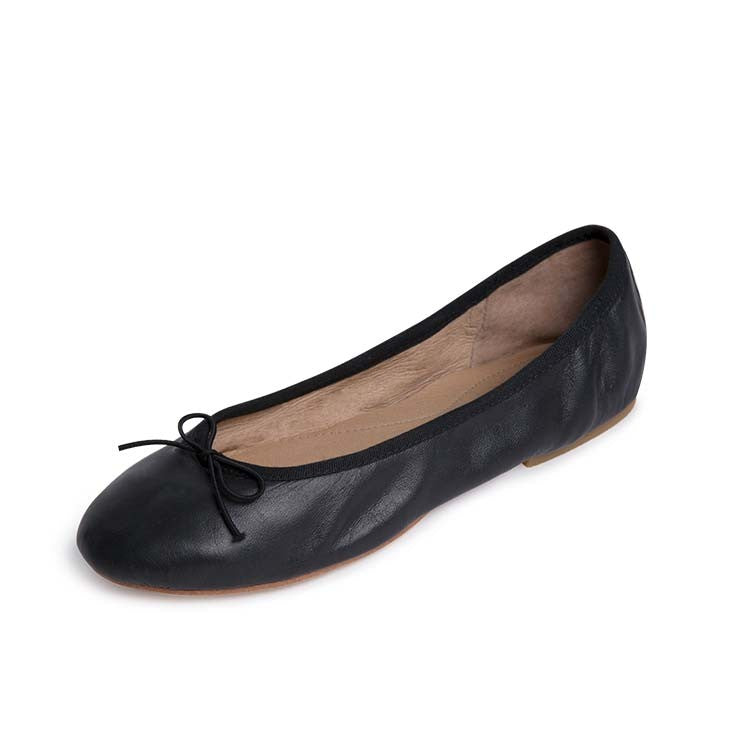 S0279L – Bloch Leather Fashion Ballet Pump Womens Flat