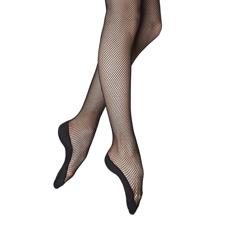 T0210 – Bloch Performance Mesh Footed Womens Tights