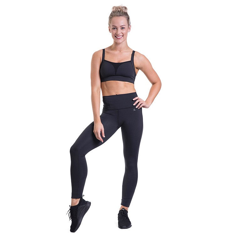 ZST003 – Bloch Studio Adjustable Wide Strap Curved Crop Top