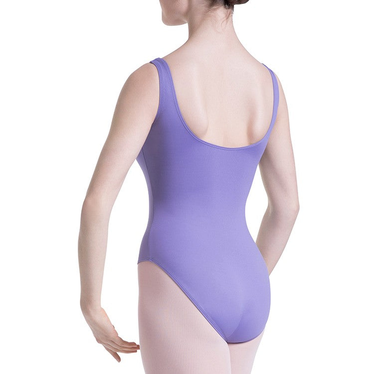 L0828L - Bloch Overture Odetta Sleeveless Pleat Womens Leotard