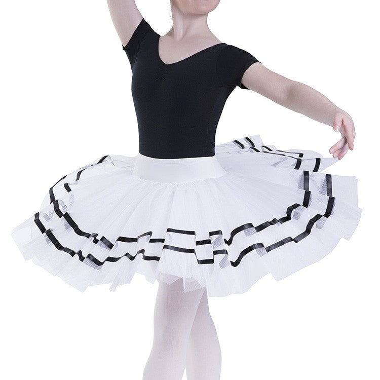 R0121L – Bloch Nadia Womens Ribbon ½ Tutu Skirt