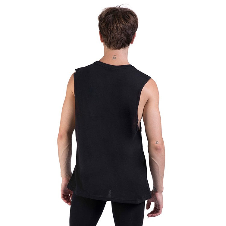 Z0403M – Bloch Harris Relaxed Drop Arm Mens Muscle Tank