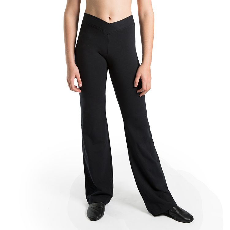 P9401GN – Bloch Cavell Hipster V Front Girls Pant