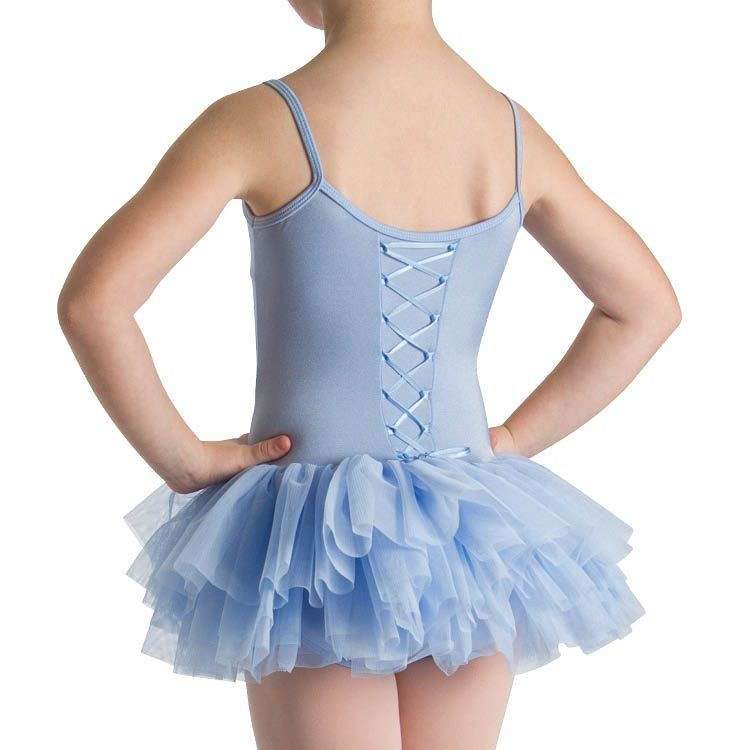 LM5222G – Mirella Mitzi Lace Up Back Girls Tutu Dress