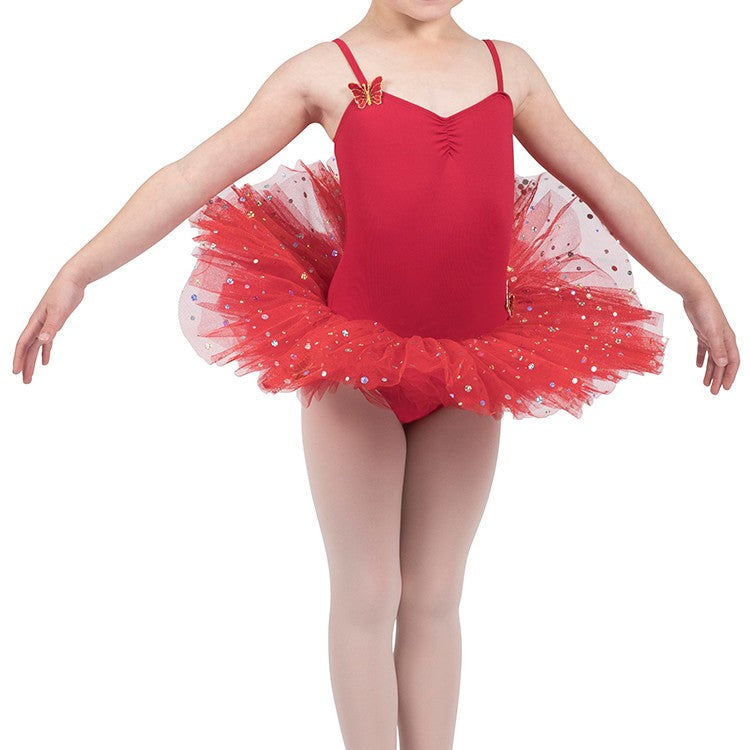 R0851G - Bloch Mariposa Holo Sequin Girls Tutu Dress