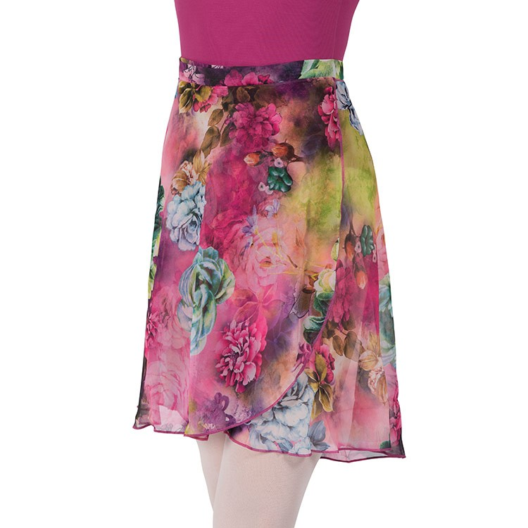 A0336L – Bloch Belle Fleur Womens Wrap Skirt