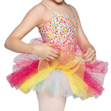 "R0024G - Danse De Paris ""Confetti' Girls Tutu Dress"