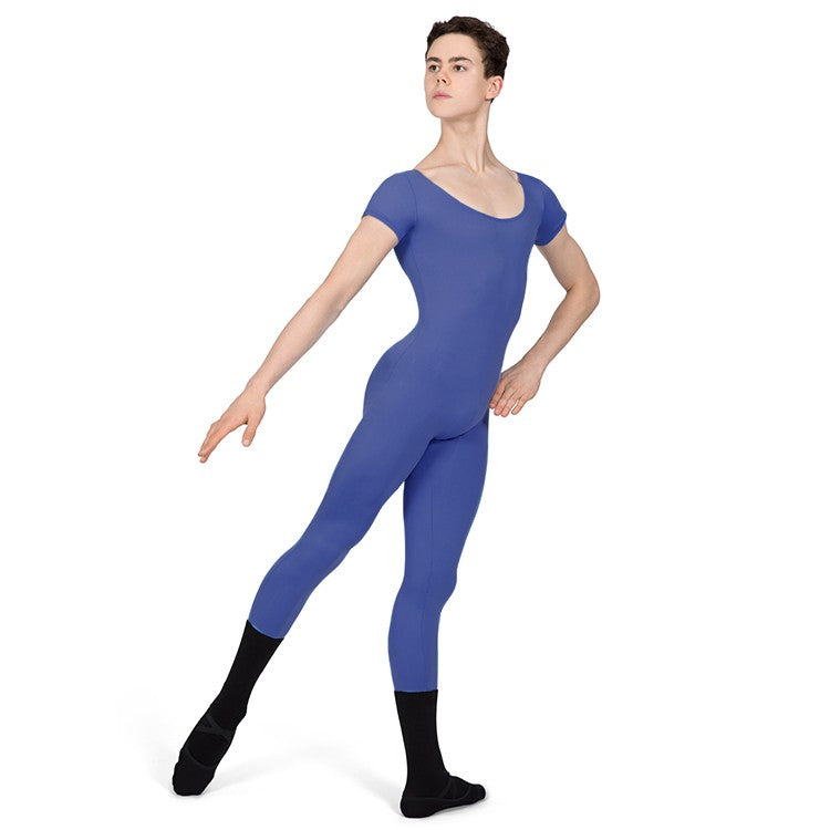 U3872M – Bloch Microlux™ Scoop Neck Cap Sleeve Mens Unitard