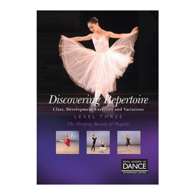 70033 – RAD Discovering Repertoire Level 3 Syllabus DVD