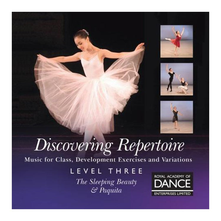 70093 – RAD Discovering Repertoire Level 3 Syllabus CD