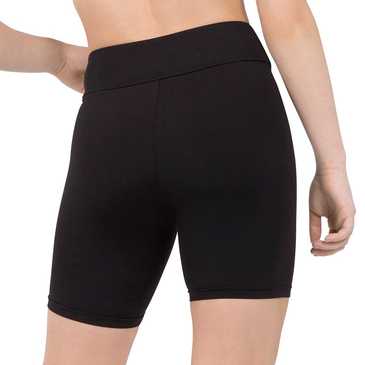 DST59804 – Bloch Wide High Waist Fitted Bike Short