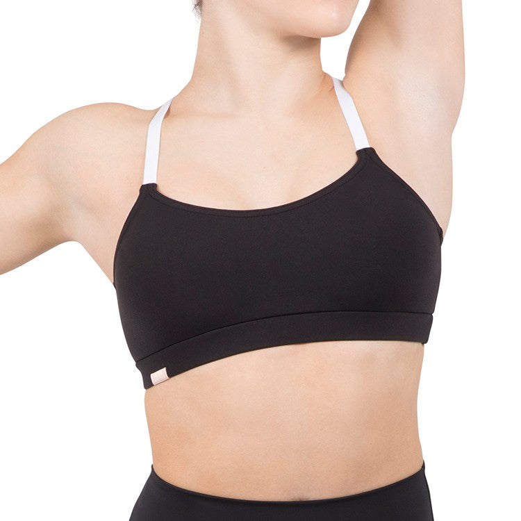 ZCO1256 – Bloch Studio Core Adjustable Strap Supplex® Crop Top