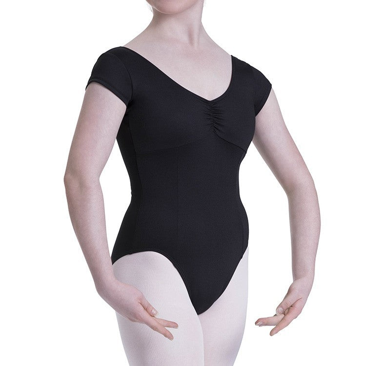 L3812LI – Bloch Viva Repertoire Womens High Back Cap Sleeve Leotard