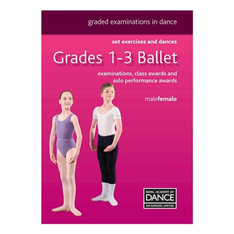 10046N – Dance NEW Grades 1-3 RAD Syllabus Book