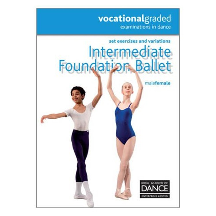 10041 – Dance Intermediate Foundation RAD Syllabus Book