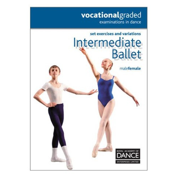 10042 – Dance Intermediate RAD Syllabus Book