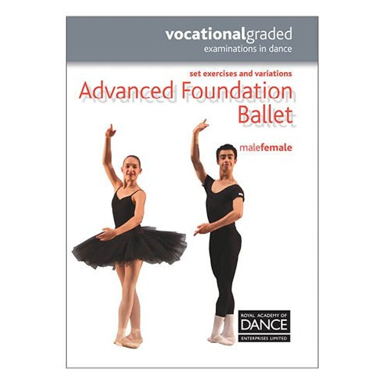 10051N – Dance Advanced Foundation RAD Syllabus Book