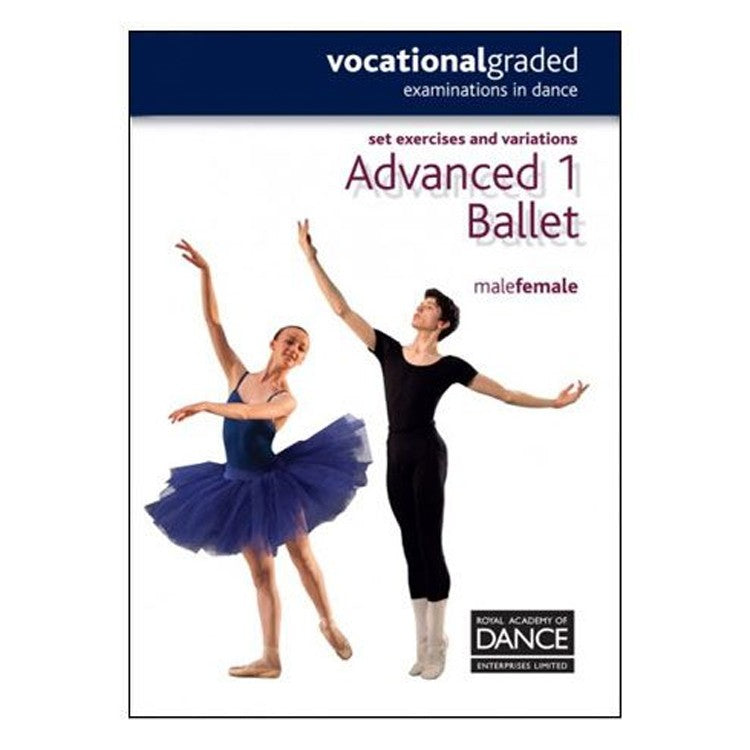 10052 – Dance Advanced 1 Male & Female RAD Syllabus Book