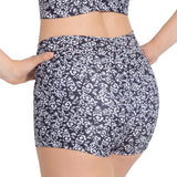 "D0001L - Danse De Paris ""Coquette' Womens Printed Short"
