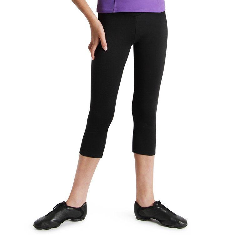 PF5811G – Bloch V Front ¾ Girls Tight