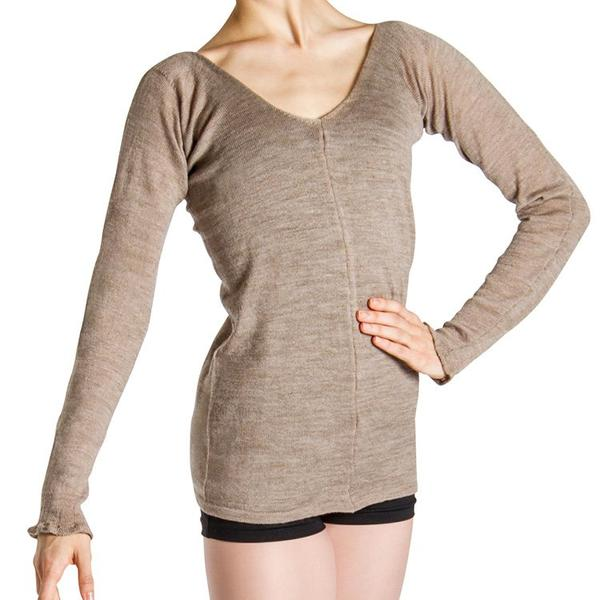 Z0119 – Bloch Piano Merino V Womens Top